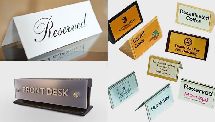 Как сделать и где заказать табличку #1 - Фото в блоге  klass-r.com.ua